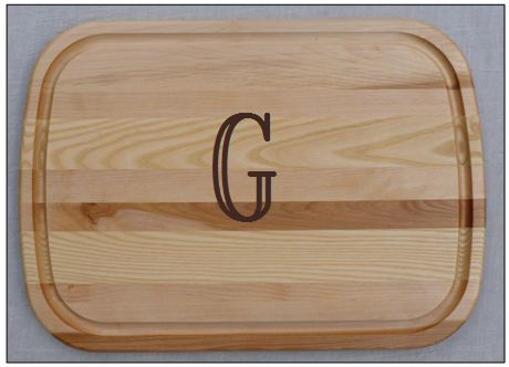 EVERYDAY PERSONALIZED LARGE CUTTING BOARD