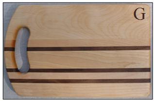 PERSONALIZED MEDIUM INTEGRITY BREAD BOARD