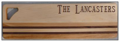 PERSONALIZED INTEGRITY LONG BOARD