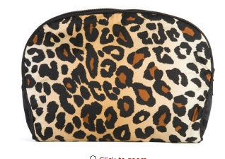 Leopard Z Cosmetic Case