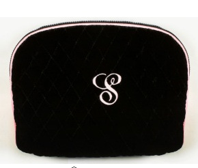 Black Velvet Cosmetic Case