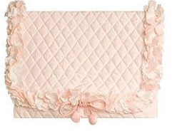 Pink Flowers Lingerie Envelope