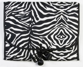 Zebra Lingerie Envelope Bag
